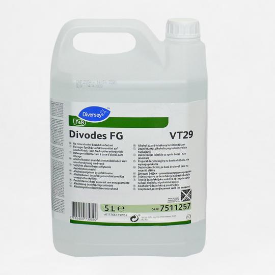 płyn do dezynfekcji powierzchni 5L [DIVODES FG]