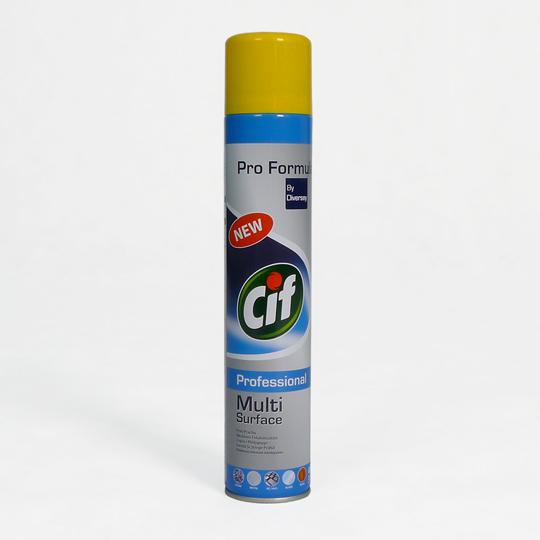 Antystatyczny preparat w spray'u do pielęgnacji różnych powierzchni [CIF PROFESSIONAL]