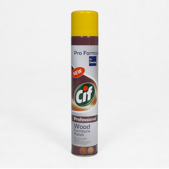 Preparat w spray'u do pielęgnacji mebli [CIF PROFESSIONAL]